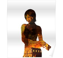 The Bad A$$, flaming Ada Wong Poster