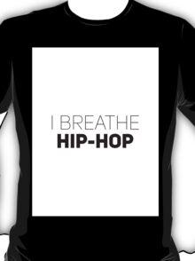 I Breathe Hip-Hop [White Brick] T-Shirt