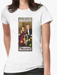 Downton Nouveau Womens Fitted T-Shirt
