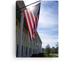 America  God shed His grace on thee !   Canvas Print