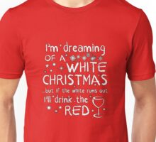 Dreaming Of A White Christmas Unisex T-Shirt