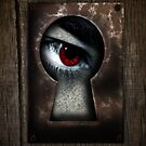 There's a Monster in My Closet! (red eye) by BluAlien