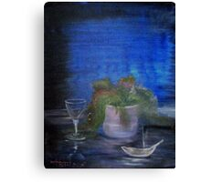 Still Life with a Cigarette Canvas Print