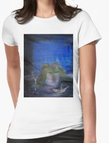 Still Life with a Cigarette Womens Fitted T-Shirt