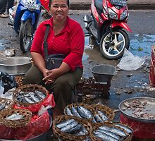 Fish Stall by Werner Padarin