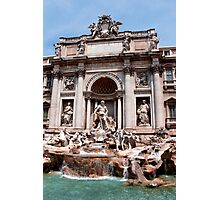 Trevi Fountain Rome Italy Photographic Print