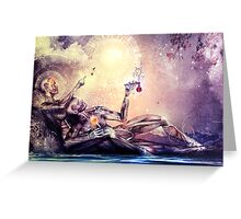 All We Want To Be Are Dreamers Greeting Card