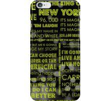 Musical Theatre Quotes iPhone Case/Skin