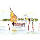 Watercolour sketch by Janys Hyde
