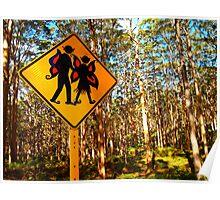"""Forest Elves"" Western Australia Poster"