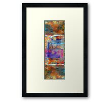 Abstract Composition #2 – July 3, 2010  Framed Print