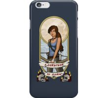 Tomb Raider Art Nouveau iPhone Case/Skin