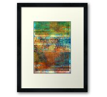 Abstract Composition #1 – July 3, 2010  Framed Print