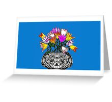 Spring Tulips 2015 Greeting Card