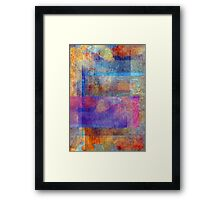 Abstract Composition – July 2, 2010  Framed Print