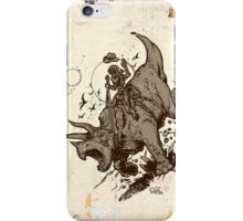 Triceratops CowBot iPhone Case/Skin