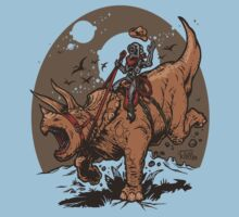 Triceratops CowBot Baby Tee