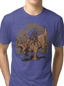 Triceratops CowBot Tri-blend T-Shirt