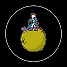 Spaceboy on Asteroid (Inspired by The Little Prince) [Big] by jefph