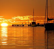 """Sunset over Shark Bay"" Shark Bay, Western Australia by wildimagenation"