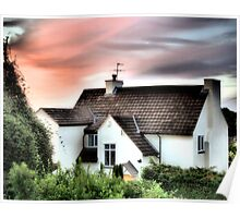Cottage In The Sky - HDR Poster
