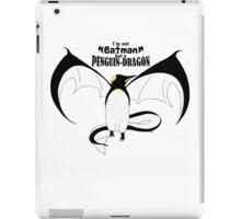 I'm not Batman but a Penguin-Dragon iPad Case/Skin