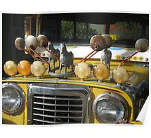 Jeepney on Parade Poster