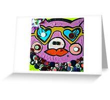CHE PORCA CHE SEI! Greeting Card