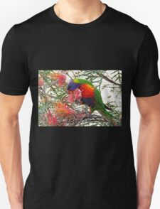 Rainbow Lorikeet ~ Breakfast Unisex T-Shirt