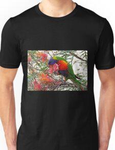 Rainbow Lorikeet ~ Breakfast Unisex T-Shirt