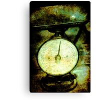 old scales Canvas Print