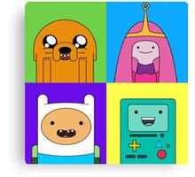 Adventure Time Pop Art Canvas Print