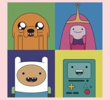 Adventure Time Pop Art Kids Tee