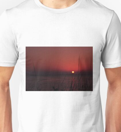 Sunrise after the Super Moon, As Is Unisex T-Shirt