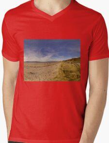 Lisfannon Beach, Fahan, County Donegal, Equirectangular  Mens V-Neck T-Shirt