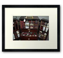 Pills and Potions - Thackray Medical Museum Framed Print