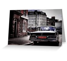 1959 Mercedes 230S Greeting Card