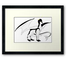The Penguin-Dragon (Lastest evolution) Framed Print