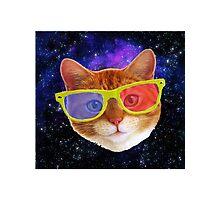 space cat Photographic Print