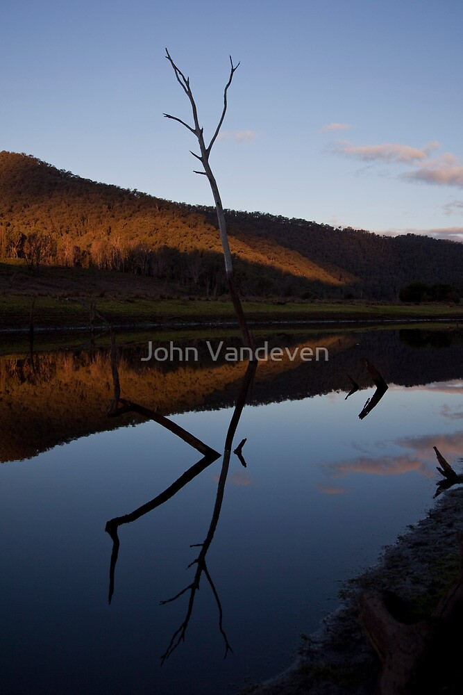 Calm afternoon. by John Vandeven