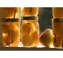 Canned Pears Photographic Print