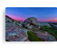 """Dawn At The Rocks"" Canvas Print"
