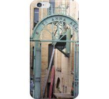 Santa Anna Alley. iPhone Case/Skin