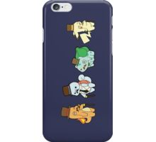 pokemon chibi charmander pikachu squirtle bulbasaur anime manga shirt iPhone Case/Skin