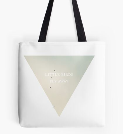 Little Birds Fly Away Tote Bag