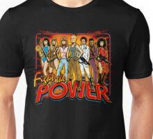 SuperWomen of the 80s - Fight The Power! Unisex T-Shirt
