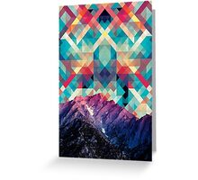 sky tile Greeting Card