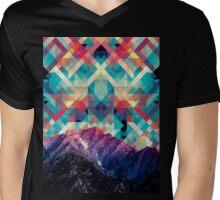 sky tile Mens V-Neck T-Shirt