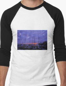 Sunrise at Mantazas Pass Men's Baseball ¾ T-Shirt
