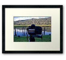Picture in Picture. Framed Print